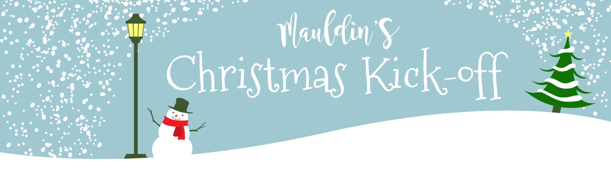 Mauldin Christmas Parade 2020 Mauldin's Christmas Kick off – Mauldin Cultural Center